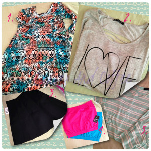 fashiontofigure shopping haul